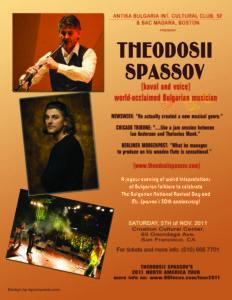 Theodosii Spassov Concert 2011